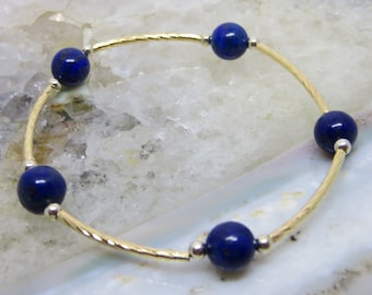 Blessing Bracelet Lapis: Communication, Inner Power, Intuition