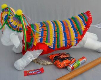 Dog Costume - Halloween - Pinata - Pet Costume - Small Dog Costume - Large Dog Costume - Cat Costume