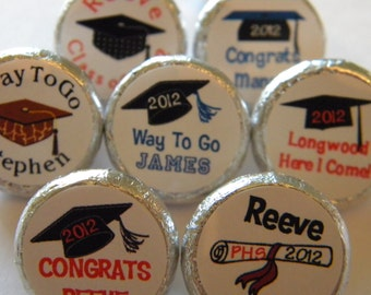 Graduation Favors - Graduation Hershey Kisses - Graduation Party Favors - Graduation Hershey Kiss stickers - Graduation Party Supplies,Favor