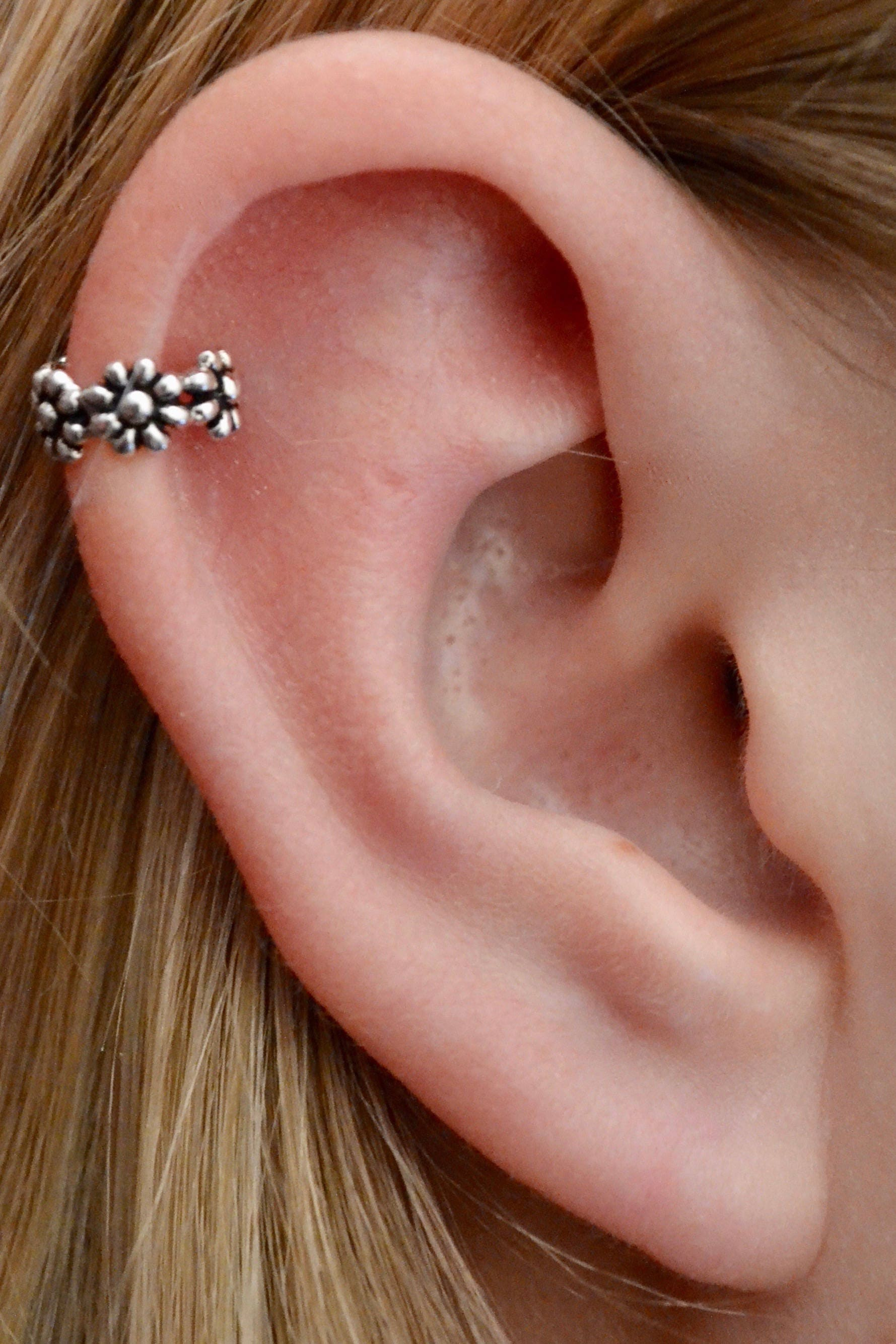 Helix Ear Cuff Daisy Ear Cuff Helix Earring Cartilage