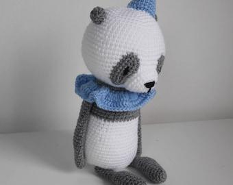 Panda crochet pattern Mr Luiwood