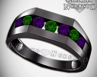 Joker wedding ring Etsy