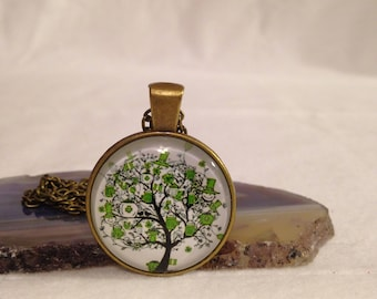 SNOWMAN - Tree of Life Necklace