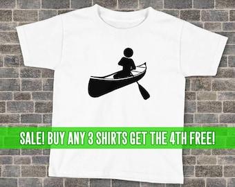 Canoeing T-Shirt, Canoe Shirt, Unisex T-Shirt, Kids Canoeing Shirt, Kids Canoeing T-Shirt, Many Colors