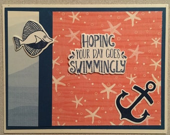 Nautical themed greeting cards