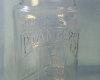 Planters Peanut Glass Decanter - 75th Anniversary Special - 1981