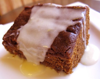 Old Fashioned Gingerbread with Lemon Sauce, PDF Recipe