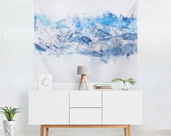 Scenic Tapestry   Mountain Wall Tapestry   Scenic Wall Décor   Mountain Wall Hanging   Scenic Wall Art   Mountain Tapestry
