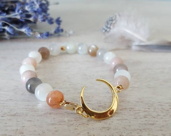 Crescent Moon Goddess Bracelet