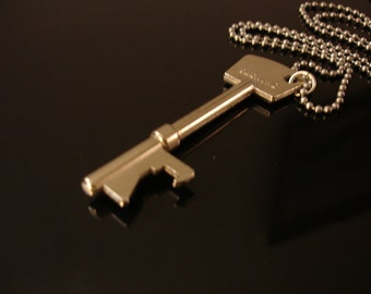 Key shaped Bottle Opener Necklace