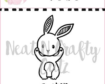 Easter bunny cut file For scrapbooking and paper crafting