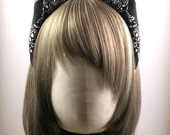 Bandana Headband with Kitty Ears