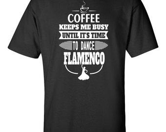 Flamenco Dancer T-shirt - Coffee and Flamenco