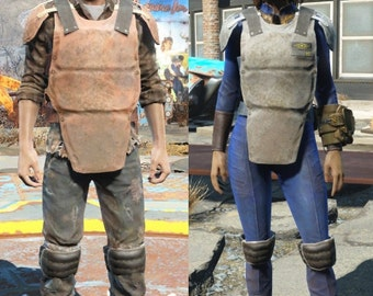 Blueprint fallout inspired republic trooper armor various blueprint fallout inspired security armor various sizes malvernweather Gallery