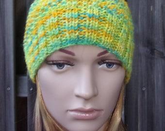 """Craft wool Cap"" lemon """