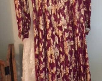 Vintage Raul Blanco Lame Dress