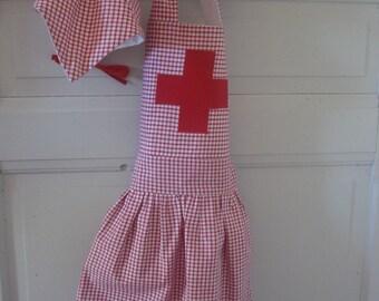 Déguisement infirmière stature 92cm 2ans