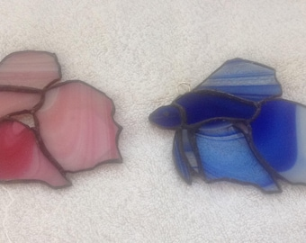 Stained glass Betta fish