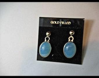 Blue Chalcedony Dangles  Item # 86
