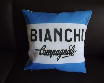 Team Bianchi Campagnolo cycling Cushion Cover Coppi