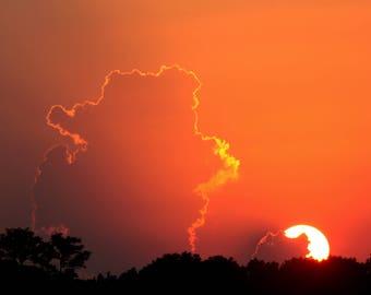 Sunset Sky Fine Art Photography Print