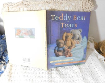 Teddy Bear Tears By Jim Aylesworth 1997 First Edition, Vintage Children's Book, Vintage Book, Preschooler Book, :)s*