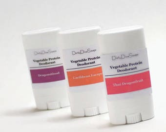 Mini Sample Size Deodorants , Choose Your Scent,  Aluminum and Baking Soda Free Formula, Set of Three