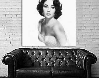 01 Poster Mural Elizabeth Taylor Actress Print