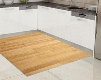 Vinyl Floor Mat Area Rug Kitchen Doormat Pvc