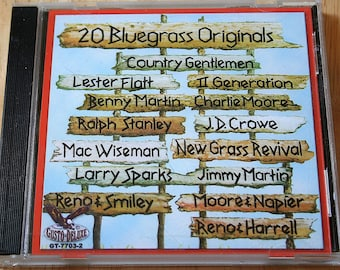20 Bluegrass Originals--Various Artists--CD--Shipping Included