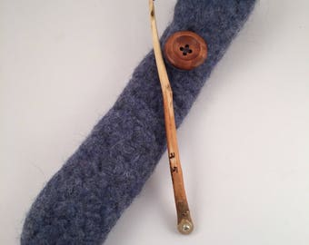 Quirqie 3.5 mm handcrafted Mulberry crochet hook