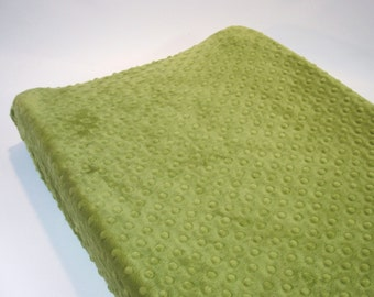 Green Changing Pad Cover Kiwi