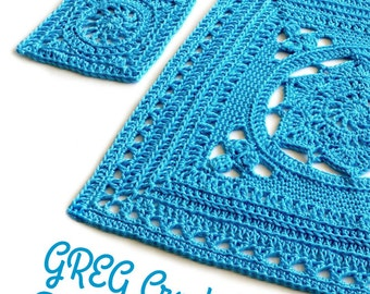 The Greg Crochet Blanket ebook US Terms crochet patterns