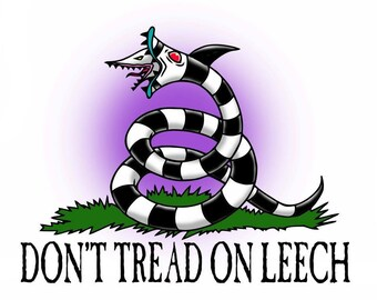 Don't Tread on Leech Leechpit Short Sleeve T-shirt