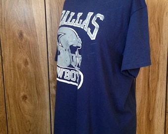 80s vintage Dallas cowboys tshirt