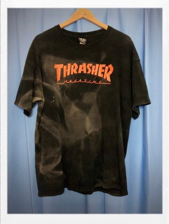 "Vintage Men's Thrasher Magazine Tee Size Extra Large 22"" width 29"" length"