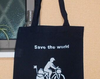 Tote bag Ride a bike