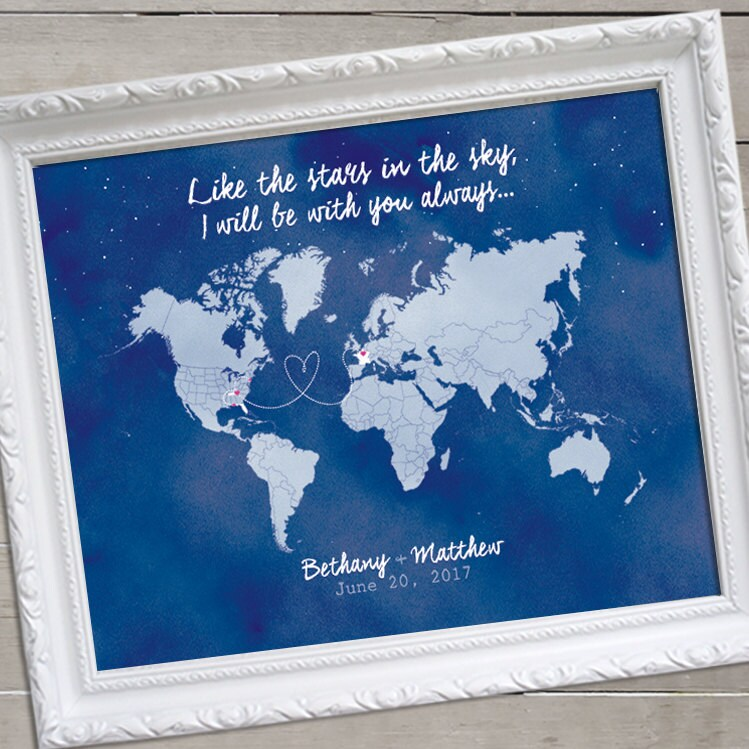 Watercolor world map guest book map wedding guest book zoom gumiabroncs Images
