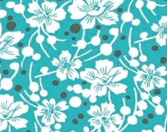 6 Yards in Stock - Windham Fabrics - Mimosa Flowers and Pebbles by Another Point of View - 100% Cotton
