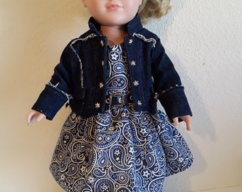18 Inch Girl Doll Outfit #179
