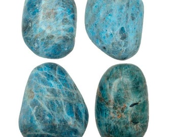 Tumbled Apatite Gallet - APGC - Increase Motivation