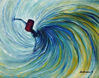 Whirling Dervish III - Print