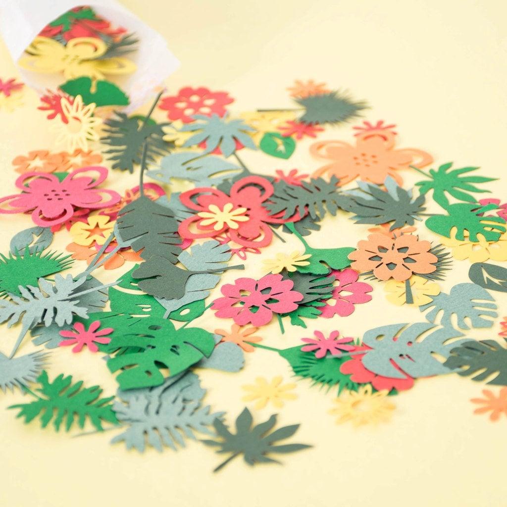 Luau party table confetti hawaiian party decorations tropical 558 izmirmasajfo Gallery