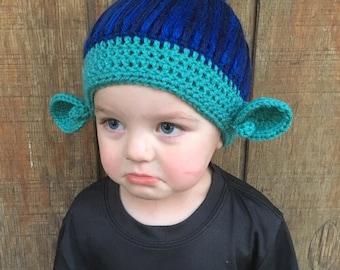 Trolls - branch inspired crochet hat