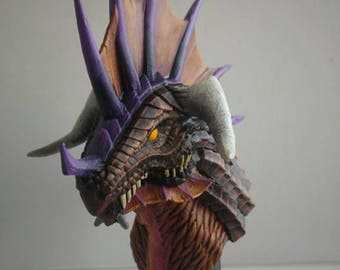 World of Warcraft Inspired Onyxia Bust