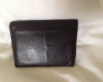 REDUCED! Vintage Buxton Men's leather tri-fold wallet