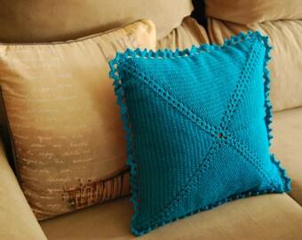 Decorative Crochet Cushion