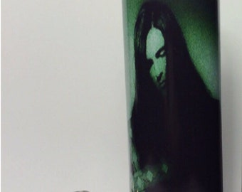 Peter Steele Type O Negative  Prayer Candle white wax