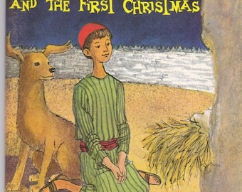ON SALE Little Benjamin and the First Christmas - Religious Book for Children - Arch Book -  Vintage 1960s