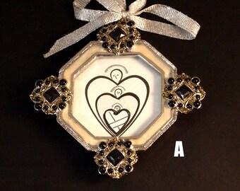 Hearts Ornament